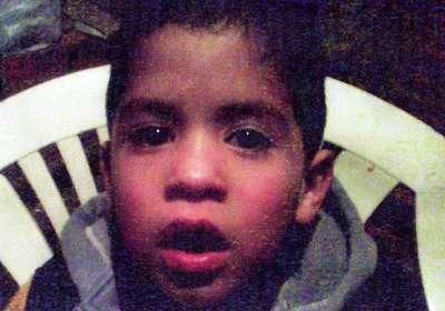 CRISTOPHER DAMIAN AVILA, 6 años de edad, se extravió en la zona de La Boca el día 6 de Enero del corriente año.
