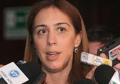 María Eugenia Vidal. Foto: Sandra Hernandez