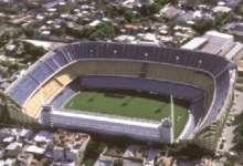 Imágen aréa del Estadio de Boca Jrs en Buenos Aires